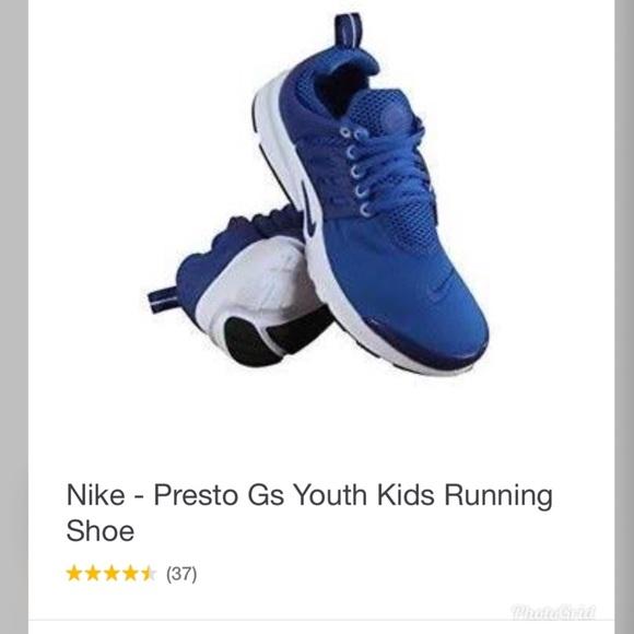 9a17c917f2ee Youth. Nike presto casual  running shoes. M 5a64eab78af1c5fa99117580